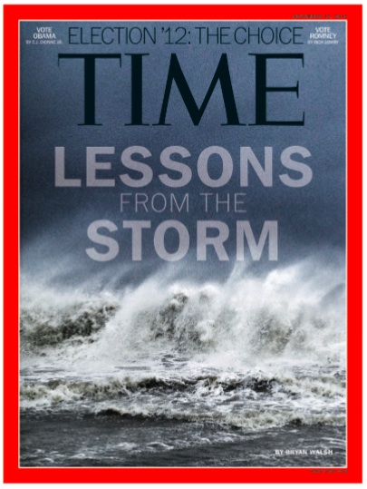 Time Magazine Sandy Cover